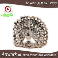 Buy cheap Decorativ Resin Figurines Peacock Sculptures Home Goods and Table Piece product