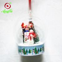 Buy cheap Factory Price Resin Snowman In Dome Christmas Ornament product