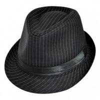 Buy cheap PIN STRIPE TRILBY WITH SATIN BAND from wholesalers
