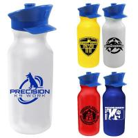 Buy cheap 20 oz. Value Cycle Bottle with Police Hat Push 'n Pull Cap product