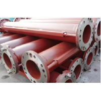 air lift/percussion RC drilling flanged drill pipe 273mm for reverse circulation air lift drilling