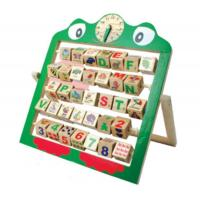 Buy cheap 0-3 years Learn the alphabet size 353x320x37mm product