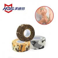 Buy cheap Printed Camouflage Non-woven Sports Adhesive Elastic Bandage product