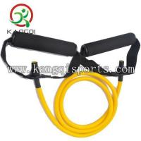 8LB Yellow Resistance Band with Handles