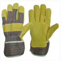 Buy cheap Pig leather working glove docker glove product