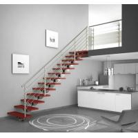 Buy cheap DYX7004Straight stainless steel staircase product