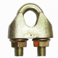 Buy cheap DIN 1142 Wire Rope Clip Galv. Malleable product