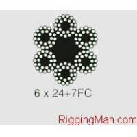 Buy cheap 6X24 STEEL WIRE ROPE product