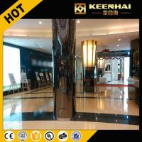 China Column Cladding Panel Customized Size Interior Stainless Steel Column Cover For Building on sale