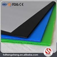 Buy cheap Wholesale top quality costomized size PP hollow board / corrugated plastic sheet product