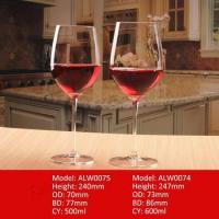 Crystal Handmade Clear Stemware Red Wine Glass Lead Free Goblet
