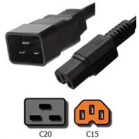 Buy cheap Power Cords C20 to C15 Plug Adapter product