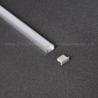 Buy cheap Fitled customized anodized recessed LED aluminium extrusion profile for led lighting product