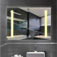 Copper Free IP44 LED Bathroom Mirror For Hotel Use
