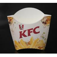 Restaurant package material Fries box