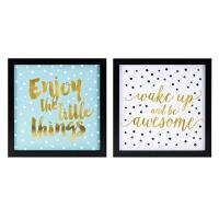 Buy cheap Positive Dots Wall Decor - Ast 2 A0265606 product