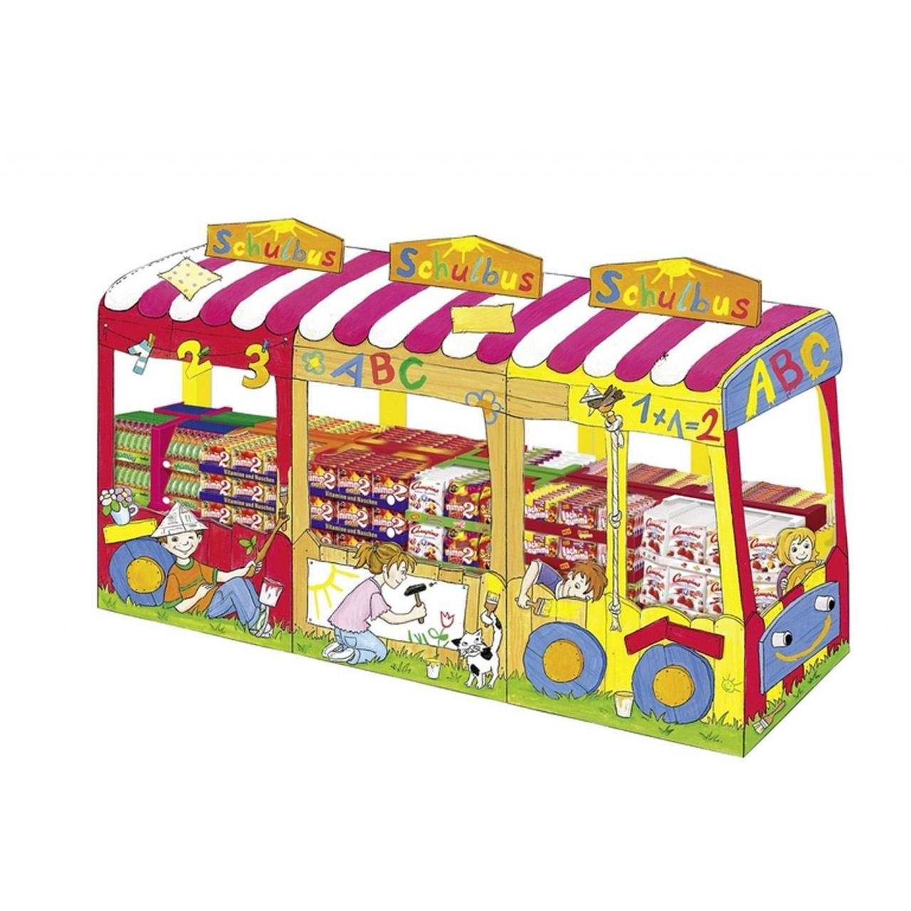 Toy & gift pallet stand