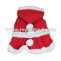 China Santa Costume Christmas Pet Clothes Hoodie Coat Clothing on sale