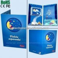 Buy cheap Music Pre-Recorded Greeting Card With Custom Logo Printing product