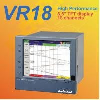 VR1818 - channel paperless recorder High-performance paperless recorder