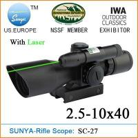 SC-27 4X40 Short scope with laser