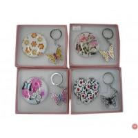 Gift Sets/Mirror with Keychain