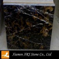Buy cheap Marble Black and Gold Marble Portoro Marble tile product