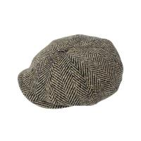 Buy cheap Aero Clothing ****NEW STOCK **** Thick Flecked Herringbone Donegal Tweed Eight Panel Cap product