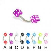 Buy cheap Acrylic Body Jewelry 1210BK product