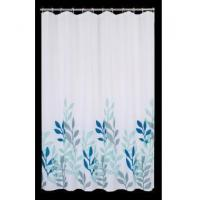 Buy cheap Fabric Shower Curtains Chinese Picture Waterweed Shower Curtain T3008 product