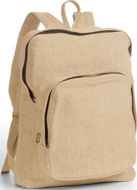 Quality Organic Hemp College Backpack for sale