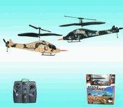 China R/C RC MINI HELICOPTER REMOTE CONTROL RADIO CONTROLLED - FIGHTING HELICOPTERS! on sale