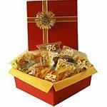 Buy cheap Festive fruit and nut assortment - product