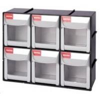 FO Mobile flip out bins FO-306(6 small bins)(parts cabinet)