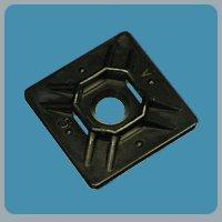 Buy cheap Cable Tie Mounts - Black 1 Inch adh/screw cable tie screw mount product