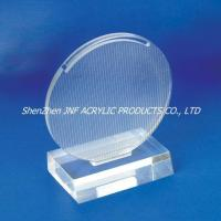 Buy cheap Transparent Round Award product