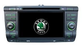Quality Skoda Car DVD Player Video Radio GPS Navigation USB SD TV RDS FM iPod for sale
