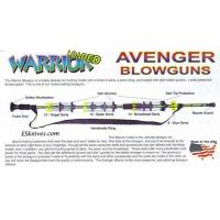 "Buy cheap Warrior 36"" Loaded Blowgun Camo 40 Cal USA Made product"