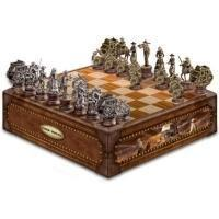 China Legendary John Wayne Chess Set CollectionModel # CT917557 on sale