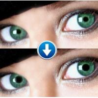 China Green eyes Perspective contact lenses on sale