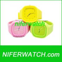Buy cheap Silicone Jelly Watch product