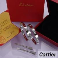 China Cartier Leve Lovers Bangles White Gold Diamond on sale