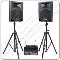 Buy cheap Stage 9 Karaoke System - Quad Radio Mic, 12inch Portable Speakers, 400w Karaoke Amp & Player from wholesalers