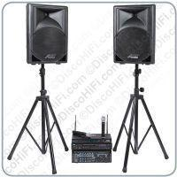 Buy cheap Stage 6 Karaoke System - Twin Radio Mic, 12inch Portable Speakers, 200w Karaoke Amp & Player from wholesalers