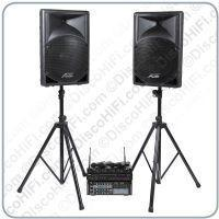 Buy cheap Stage 10 Karaoke System - Quad Radio Mic, 15inch Portable Speakers, 400w Karaoke Amp & Player from wholesalers