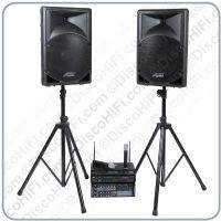 Buy cheap Stage 8 Karaoke System - Twin Radio Mic, 15inch Portable Speakers, 400w Karaoke Amp & Player from wholesalers