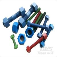 Buy cheap Fasteners xylan-fluoropolymer-coated-stud-bolts-and-nuts product
