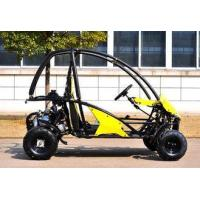 Buy cheap 4 Wheels Gas Electric CVT Go Kart For Farm , Go Kart Kits KD 110GKTA product