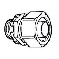 Buy cheap Malleable Iron liquid tight connectors Straight product