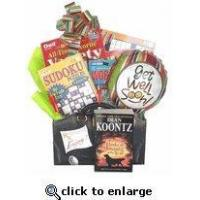 Buy cheap Boredom Buster Get Well Gift With Books No Food Version | Get well gift with reading material. product